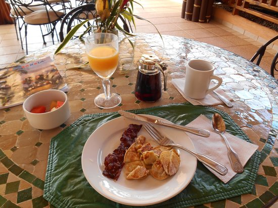 Villas Alturas: Great Breakfasts