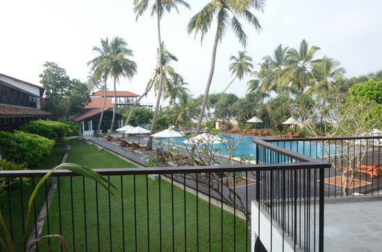 Avani Bentota Resort & Spa: View from the balcony of the suite