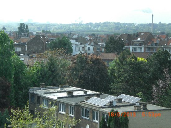 Evere, Belgium: view from room 526, 18th May 2013
