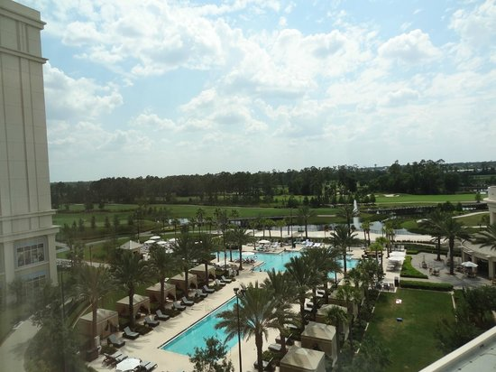 Waldorf Astoria Orlando: View from Room