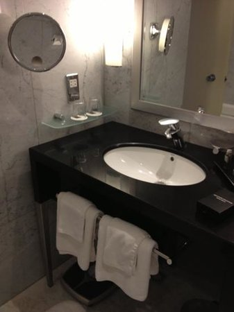 Sheraton Park Tower: bathroom sink