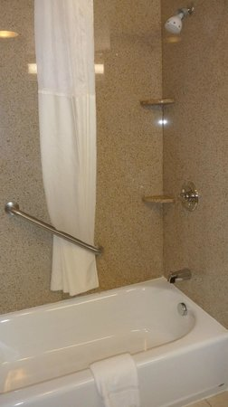 Cheektowaga, NY: Big, comfy shower