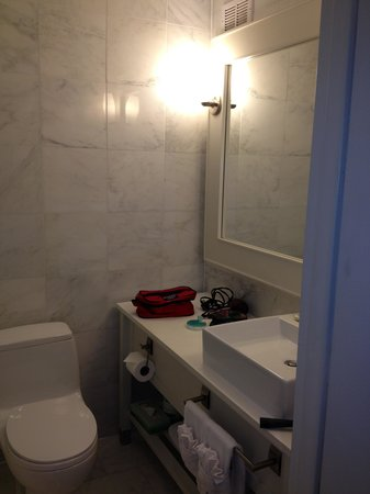‪‪Berkeley Oceanfront Hotel‬: Remodeled bathroom.....‬