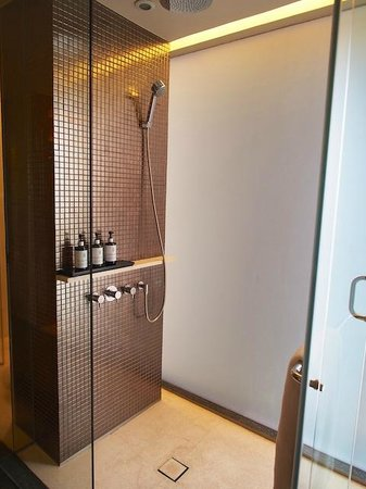 Hansar Bangkok: shower