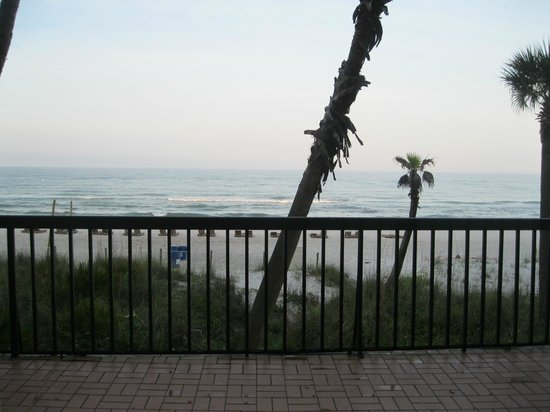 Days Inn Panama City Beach/Ocean Front: view from door