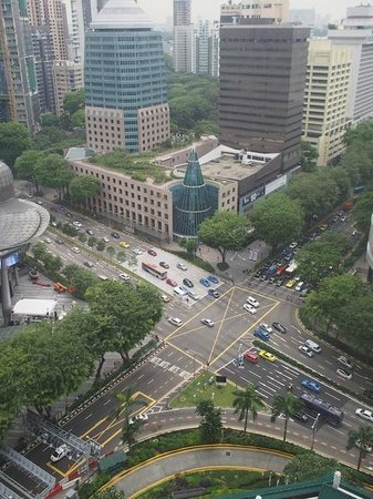 Marriott Hotel Singapore: View from the room