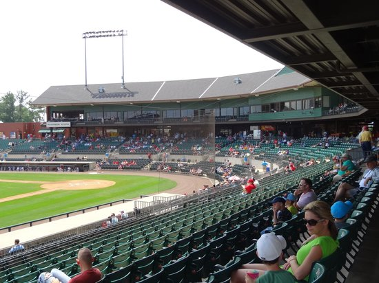 North Little Rock, AR: View from left field seats