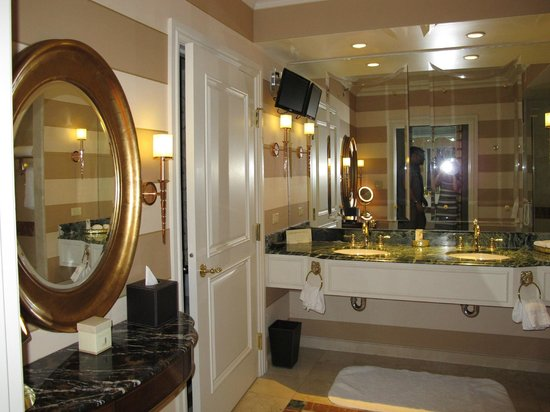 Venetian Resort Hotel Casino: Bathroom