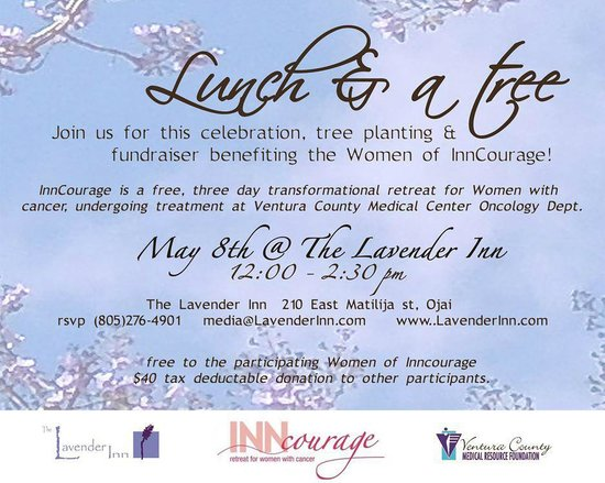 Lavender Inn: Lunch & a Tree Benefit