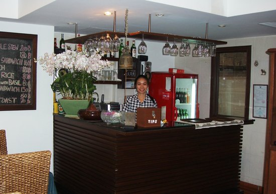Baan Sukhumvit Inn Soi 20: Coffee, tea, alchol and soft drinks