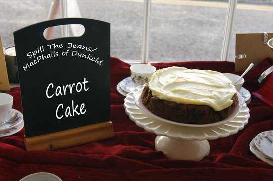 Dunkeld, UK: carrot cake