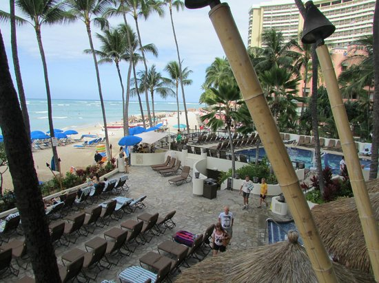 Outrigger Waikiki on the Beach: View from Dukes