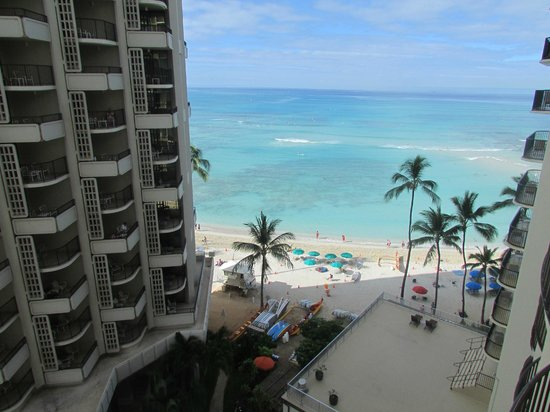 Outrigger Waikiki on the Beach: From my balcony 8th floor