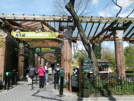 Central Park Zoo Nyc Reviews Central Park Zoo Entrance