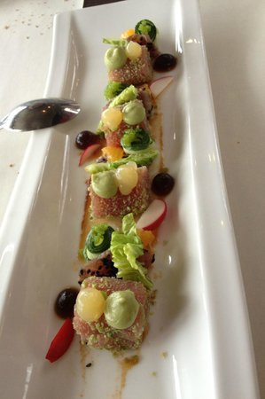Zoetermeer, Nederland: Tuna with a taste of wasabi