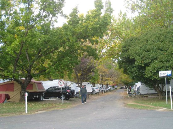 Beechworth, Avustralya: Caravan sites