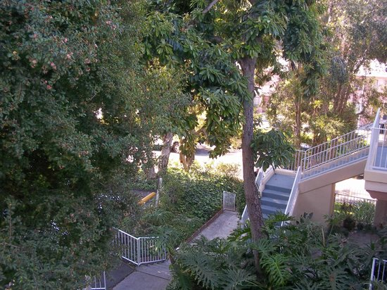 Magic Castle Hotel : View from our balcony.