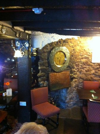Newton Abbot, UK: cosy corner in restaurant