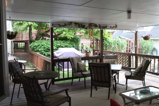 Blacksburg, VA: Back Deck