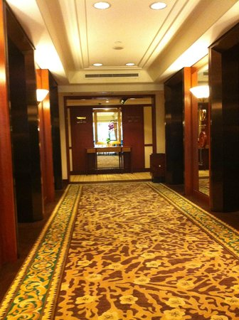 The Langham Hongkong: Lift waiting area