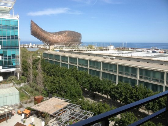 Pullman Barcelona Skipper: View from the Balcony