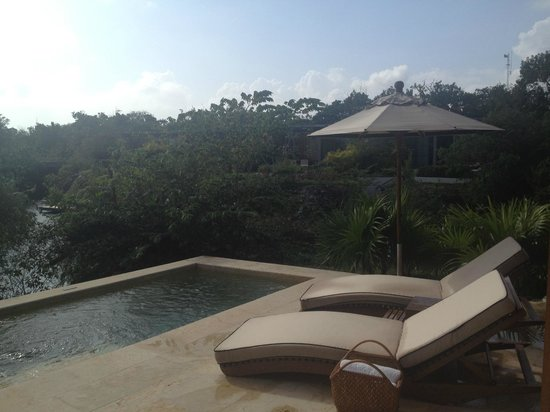 Rosewood Mayakoba: Private plunge pool.