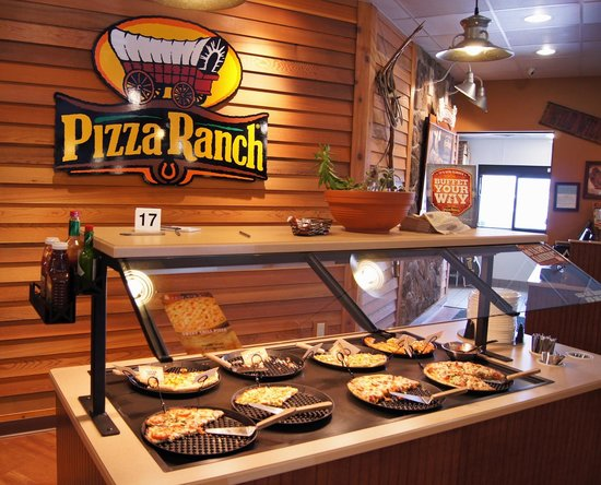 Portage, WI: Pizza Buffet Bar
