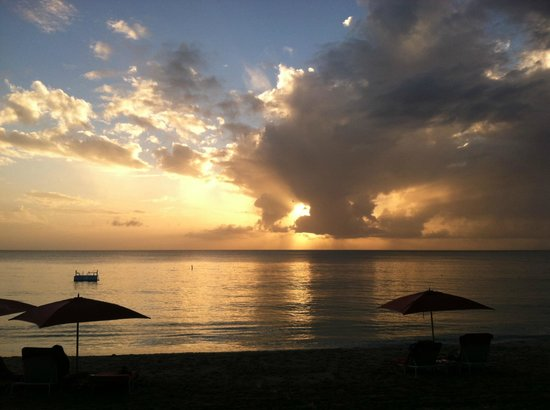 Sandy Lane Hotel: Sunset at Sandy Lane