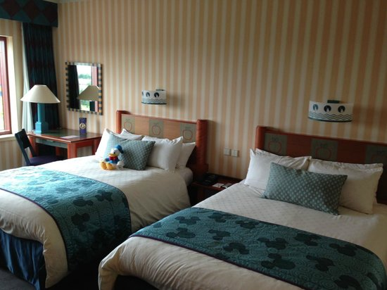 Disney's Hotel New York: Chambre