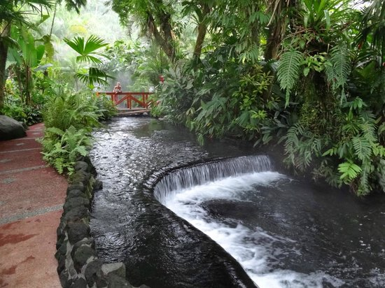 Tabacon Grand Spa Thermal Resort: hot springs
