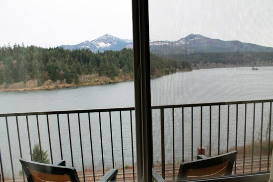 BEST WESTERN PLUS Columbia River Inn: Balcony of room