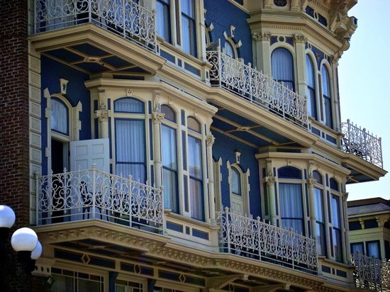 The horton grand hotel rumored to be haunted picture of for Haunted hotel in san diego