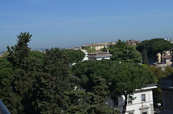 Parco dei Principi Grand Hotel & SPA : the view from our room