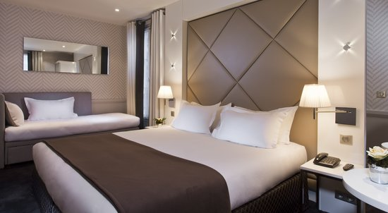 Hotel Longchamp Elysees: Triple