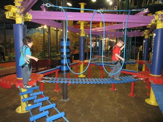Kalahari Resorts & Conventions: Sky Tykes Mini Rope