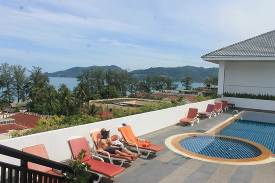 Destination Patong Hotel and Spa: Rooftop Pool