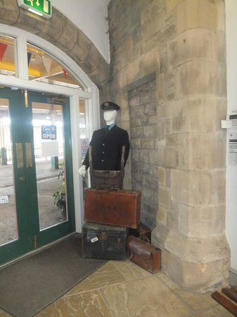 Carnforth, UK: more display