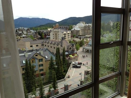 The Westin Resort & Spa, Whistler: Overlooking the village