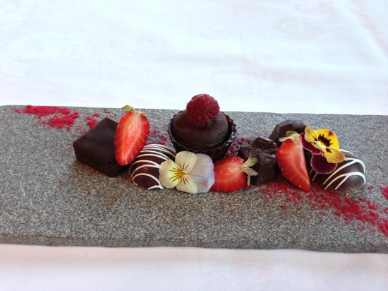 Mt. Cook Village, New Zealand: Petit Fours from Panorama