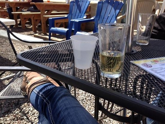 Golden, CO: Relaxin' on the patio