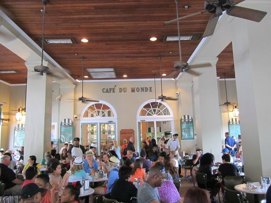 Hampton Inn New Orleans-Downtown: Cafe du Monde