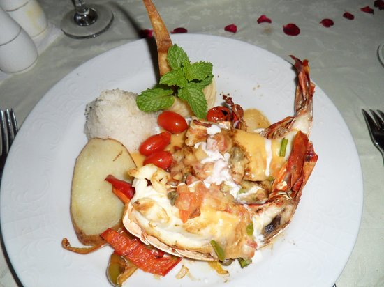Hotel Playa Pesquero : lobster @ romantico