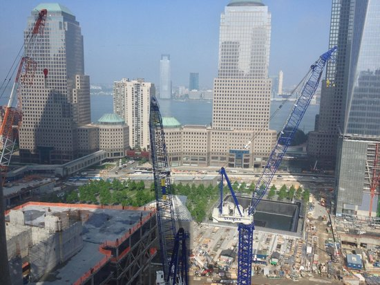 Millenium Hilton: WTC Reconstruction Site from RM 2911