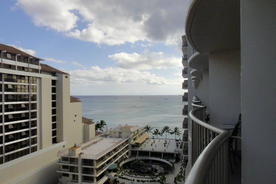 Outrigger Reef on the Beach: Lovely view from POV room.