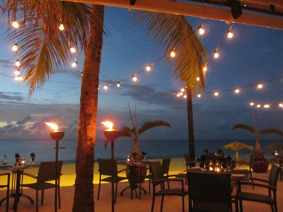 West End Village, Anguilla: Just another night in paradise...