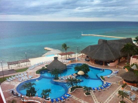 El Cozumeleno Beach Resort: View from room