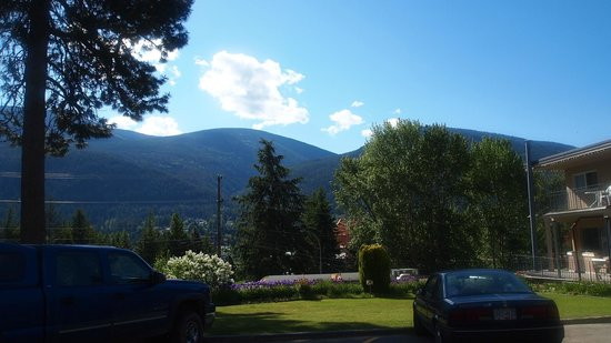 Nelson, Canada: The view from the grounds