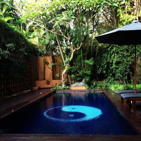 The Villas Bali Hotel & Spa: Our beautiful pool & garden