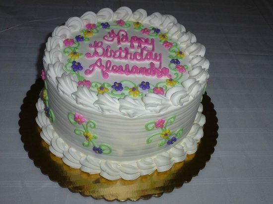 Newark, DE: Bing's Bakery Birthday Cake