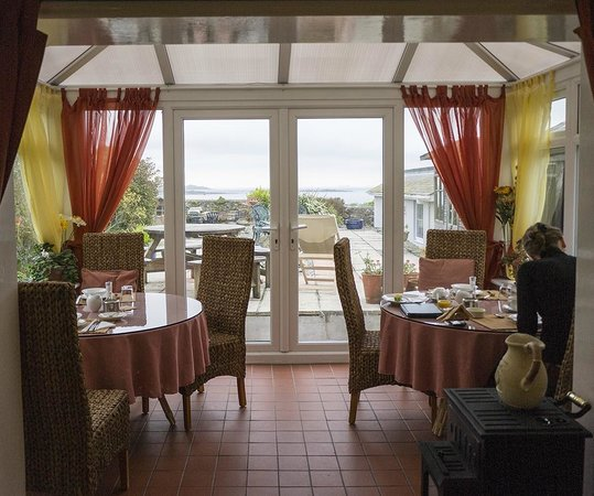 Marazion, UK: Breakfast room